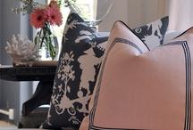 pillows / by Lumar Interiors