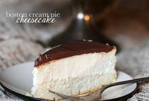 Food - Cheesecakes / Wonderful looking cheesecake recipes. / by Christine Blythe