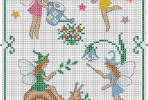 Fate maghi e streghe / Cross stitch / by Gingerlily