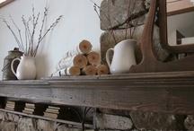 Mantels / #mantels #manteldecorating #mantelideas / by Andrea @ personallyandrea