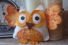 Owls and more Owls / by Becky Thackston