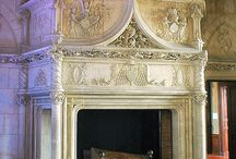 A place for the mantels / Fire places and mantels / by Teresa Wood