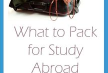 Studying Abroad & New Adventures / What I will want to know to prepare myself for studying abroad. Also what kind of clothes to bring! / by Kelsey Barger