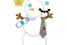 Winter Crafts & Ideas / Crafts for kids with winter or winter holiday themes / by Library Gerbils