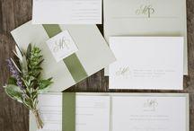 Fernandez/Ramirez Wedding / Rustic Sage Green Inspiration / by Cheeca Weddings