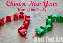 Chinese New Year - Snake / by Michelle Hill