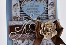 Handmade Greeting Cards / Handmade cards using stencils, paper & rubber stamps / by Tammi Janiga