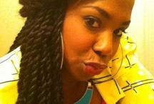 Senegalese twist/box braids etc must follow / by mabie kimba