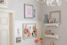 Sewing corner / by Joanna Stokinger