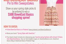 Spring Styles with DownEast / by Laura Hawkes