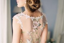 Aly's wedding hair inspiration / by Hillary Rumsey