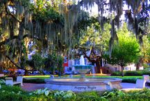 Savannah, GA The Port City- HOME / born and raised here / by Angie Hartley