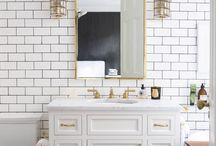 bathrooms /   / by Rachael Olson