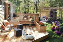 Small Patio Ideas / by Heather Robertson