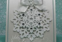 Snowflake card / by Madeline Morcelo