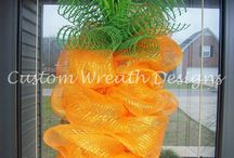 Wreaths/ Front door / by Amber Olivier