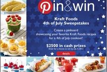 Kraft Recipes Pin and Win / by Carol Norton