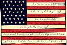 Decor - Star- Spangled Banner / by Cara N Soto