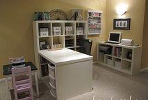 Craft Room/Bonus Room / by Barbara Poole