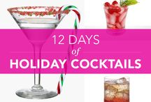 12 Days of Cocktails / 12 must try cocktail recipes that are fitting for the holiday! / by Bethenny Frankel