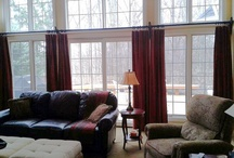 Soft treatments - Maumee OH / Draperies and valances for a home in the Stillwater subdivision - Maumee, OH / by Window Treatments
