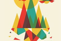 Graphics / all things esthetically pleasing - design, illustration, & typography / by Jen Morris