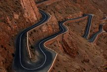 curvy roads  / As a cyclist, I love riding up big mountains. This board is a collection of the most mind blowing roads in the world for those who prefer to ascend.  / by J White.
