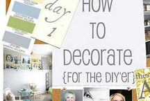 Tons of inspiration for DIY decorations / by Helen Walker