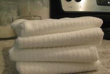 Homemade household cleaners / by Becca