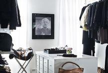 Home storage/closet ideas / by Kelli Booth