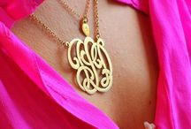Monogrammed things ❤ / by Lana Been