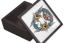 GIFT BOXES / Gift Boxes for your personal treasures by Rafael Salazar Colombian Artist  Cajas para regalo - Arte Rafael Salazar - Artista Colombiano ~ Collection of Gift Boxes by Rafael Salazar Copyright restrictions: All images are provided for demonstration purposes only and cannot be reproduced without permission / by Rafael Salazar