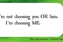 The selection  / by Madelyn Macionis