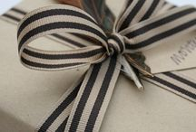 Gift Ideas, Gift Wrapping & Favor Ideas / by Christina P