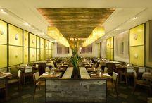 F&B / Food and Beverage interiors / by Elsbeth Montecillo-Perez