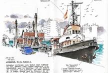 Sketchbooks and Journals / by Martina Raberba Winner
