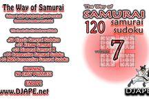 Samurai Sudoku / Books with Sudoku Samurai puzzles just like those in The Washington Post / by Djape
