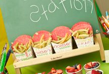 School snacks / by Mindy