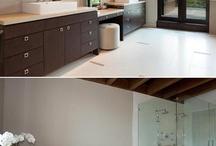 bathrooms / by Tricia Carlsgaard