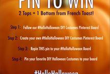 #HelloHalloween DIY costumes / by Serena Adkins