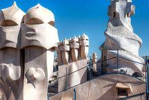Antoni Gaudí / by Cristina Marès Clemente