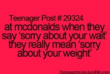 Teenager Post / by Aileen