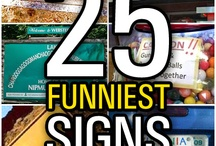 Funniest Sign Collections / by Funny Signs