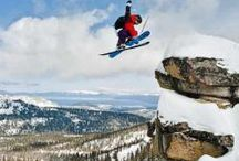 Sierra Skiing / I started skiing the Sierras at Mammoth In 1953 / by Stephen Dow