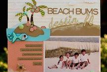 Cricut Life is a Beach / This board includes ideas using Cricut Life is a Beach cartridge (aka Life's a Beach) and Cricut Lite Splish Splash Cartridge. / by Melanie Lewis