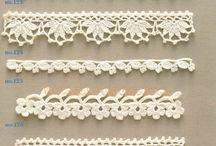 Crochet - bicos / by Rosa Bridi