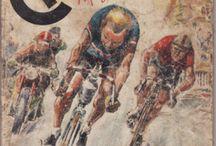 sport / cyclisme et patinage / by régine gonnet