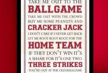 Baseball mancave...ideas / by Nichole Jones