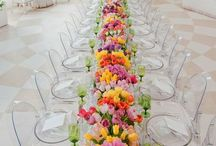 Long Table Settings Pretty / by ALilsomething ToRemember