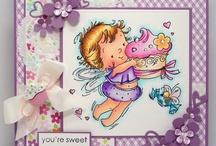 stamps/cards/coloring / by Kathy Bitz